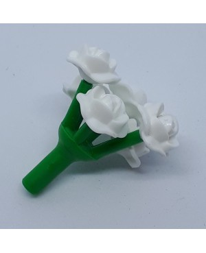 339101 Flor tulipán blanco playmobil,tulip flower